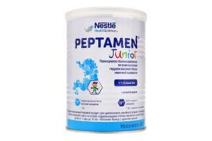 Суміш для дітей 1-10років суха з ароматом ванілі Junior Peptamen Nestle з/б 400г