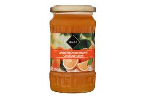 Джем плодово-ягодный пастеризованный Апельсиновый Rioba с/б 430г