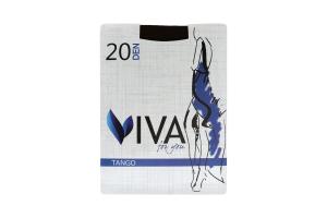 Viva колготки жіночі Tango 20 nero 4