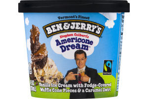 Ben Jerry S Ice Cream Stephen Colbert S Americone Dream Ben Jerry S 76840135554 Customers Reviews Listex Online The american dream is a 30 minute animated film that shows you how you've been scammed by the most basic elements of our government system. ben jerry s ice cream stephen colbert
