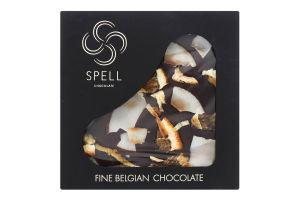 Шоколад темний з маракуйею та кокосом Spell к/у 100г