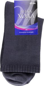Шкарпетки Легка Хода чоловічі 6338 29 темно-сірий