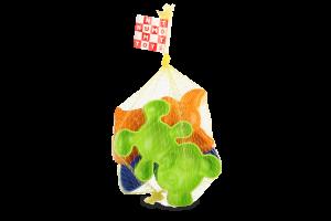 Набір пісочний для дітей від 3років Три пасочки Numo Toys 1шт