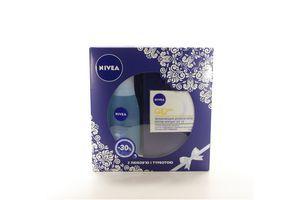 Набір крем проти зморшок Nivea 50мл+ засіб для зняття макіяжу Nivea 125мл