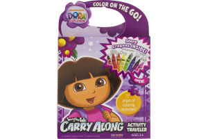 Imagine Ink Nickelodeon Dora the Explorer Carry Along Activity Traveler