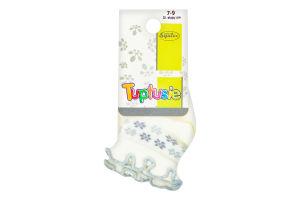 Шкарпетки дитячі Tuptusie 7-9 білі