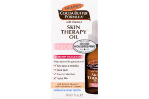 Palmer's Cocoa Butter Formula With Vitamin E Rosehip Fragrance Face Skin Therapy Oil