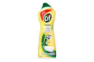 Крем для чистки Лимон Cif 750мл