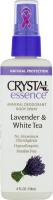 Crystal Essence Mineral Deodorant Body Spray Lavender & White Tea
