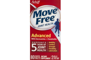 Move Free Joint Health Advanced - 80 CT