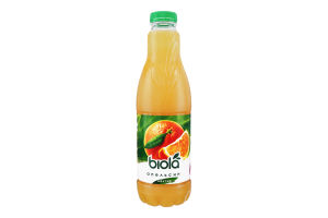 Нектар апельсиновый неосветленный Біола п/бут 1л