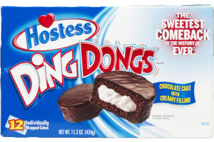 Hostess Ding Dongs - 12 CT