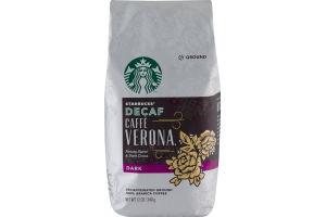 Starbucks Decaf Caffe Verona Dark Ground Coffee