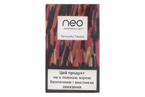 Виріб тютюновмісний для нагрівання Neo Terracotta Tobacco 20шт