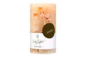 Свічка ароматична сандалове дерево Candy Light МС07*13/1