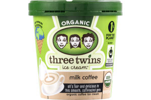 Three Twins Ice Cream Organic Milk Coffee