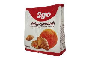 Міні-круасани з апельсиновою начинкою 2go м/у 180г