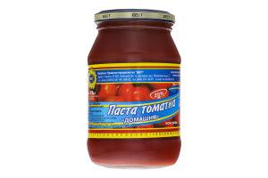 Паста томатна Домашня Бест с/б 470г