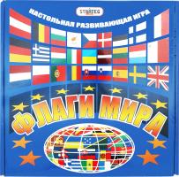 Гра Стратег прапори світу кор. 25 25 5см 709