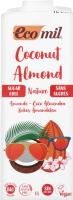 Молоко рослинне органічне Кокос-мигдаль Ecomil т/п 1л