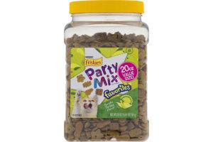 Purina Friskies Party Mix Cat Treats Terrific Turkey Flavor