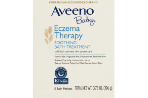 Aveeno Baby Eczema Therapy Soothing Bath Treatment - 5 CT