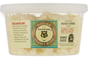 Sartori Shaved Cheese Sicilian Reserve Blend