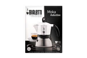Кофеварка Bialetti MokaInduct гейз бел 3чаш 0.18л