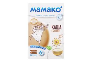 Каша на козьем молоке для детей от 6мес 5 злаков Мамако к/у 200г