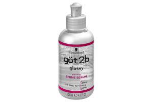 Schwarzkopf Got2b Glossy 4 Frizzy Hair Anti-Frizz Shine Serum