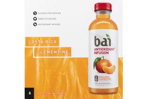 Bai Antioxidant Infusion Beverage Costa Rica Clementine - 6 CT