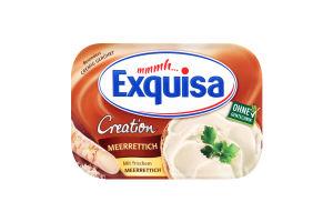 Сыр 64% сливочный с хреном Exquisa п/у 200г