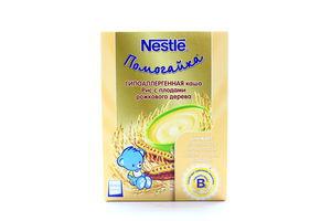 Каша безмолочная для детей от 5мес Рис с плодами рожкового дерева Помогайка Nestle к/у 200г