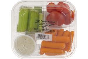 FreshLine Veggie Tray With Ranch Dip