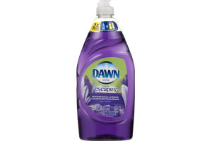 Dawn Ultra Dawn Escapes Dishwashing Liquid Mediterranean Lavender 21.6 fl oz