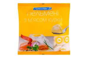 Пельмени с мясом курицы Геркулес м/у 400г