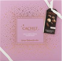 Конфеты Cachet Праздничное Ассорти шоколадные