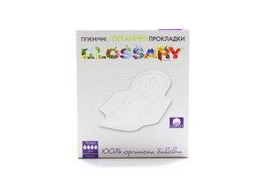 Прокладки Glossary гігієнічні органічні 10шт