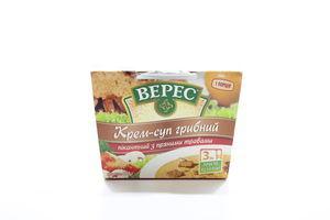 Крем-суп быстрого приготовления грибной пикантный с пряными травами Верес к/у 350г