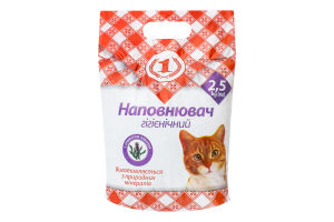 Наполнитель гигиенический с ароматом лаванды для кошачьих туалетов №1 2.5кг