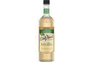 DaVinci Gourmet Naturals Turkish Hazelnut Syrup