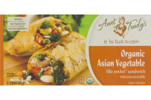 Aunt Trudy's Organic Asian Vegetable