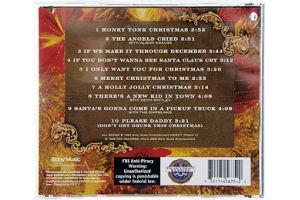 Alan Jackson Honky Tonk Christmas CD