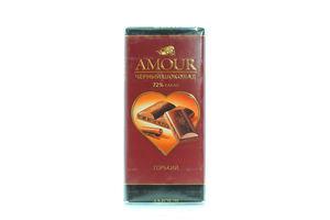 Шоколад Конти Amour горький 72% какао 100г