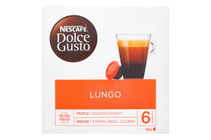 Кава Nescafe Dolce Gusto Caffe Lungo 112г