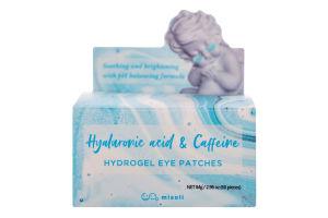 Патчи под глаза Hyaluronic acid&Caffeine Misoli 60шт