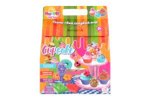 Набор теста для лепки для детей от 3-х лет №71302 Мистер тесто Cup Cake Мир Лео 1шт