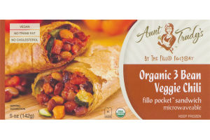 Aunt Trudy's Organic 3 Bean Veggie Chili