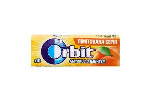 Гумка жувальна без цукру Абрикос з імбирем Orbit м/у 14г