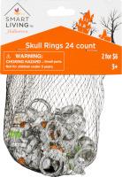 Smart Living Skull Rings - 24 CT